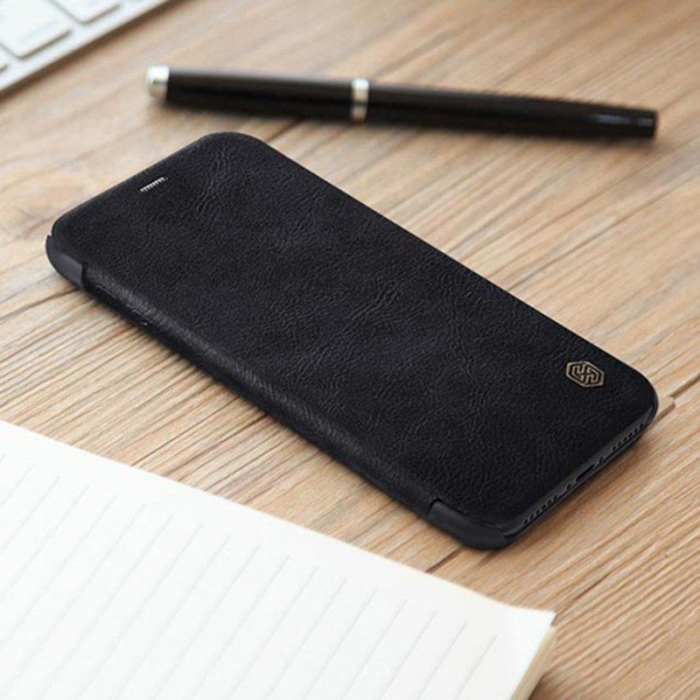 Husa iPhone X Nillkin Qin - negru 6