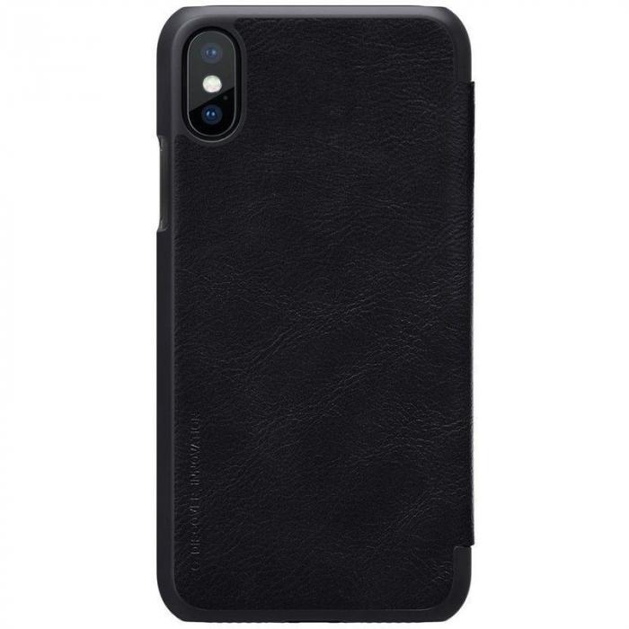 Husa iPhone X Nillkin Qin - negru 3