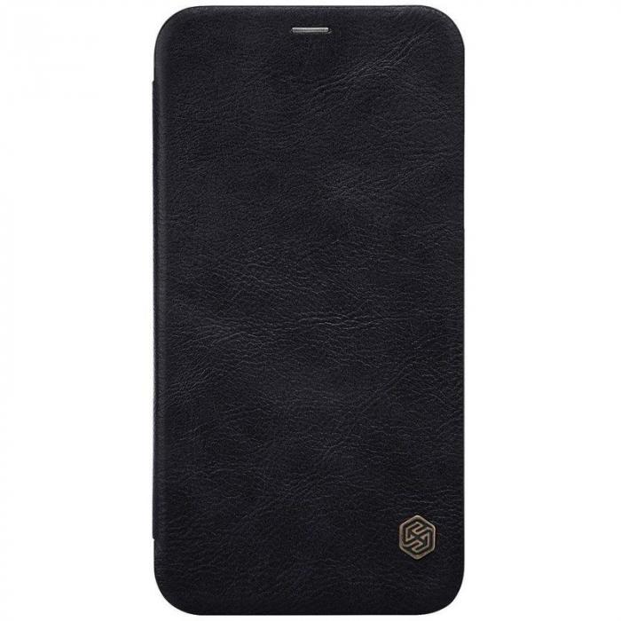 Husa iPhone X Nillkin Qin - negru 5
