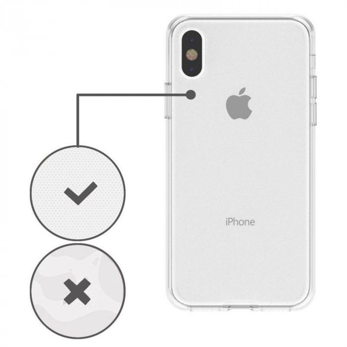Husa iPhone X Silicon TPU 360 grade - transparent 5