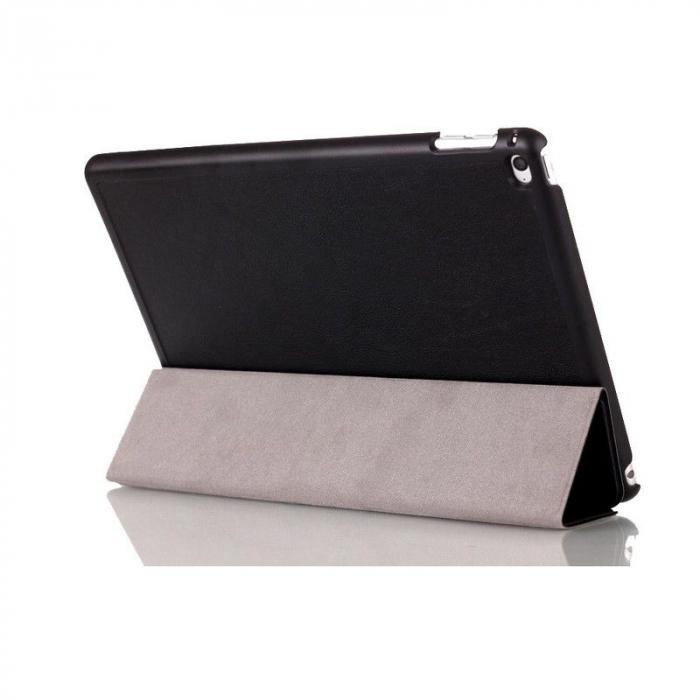 Husa iPad Mini 4 Leather Smart Case Tri-fold Stand - negru [4]