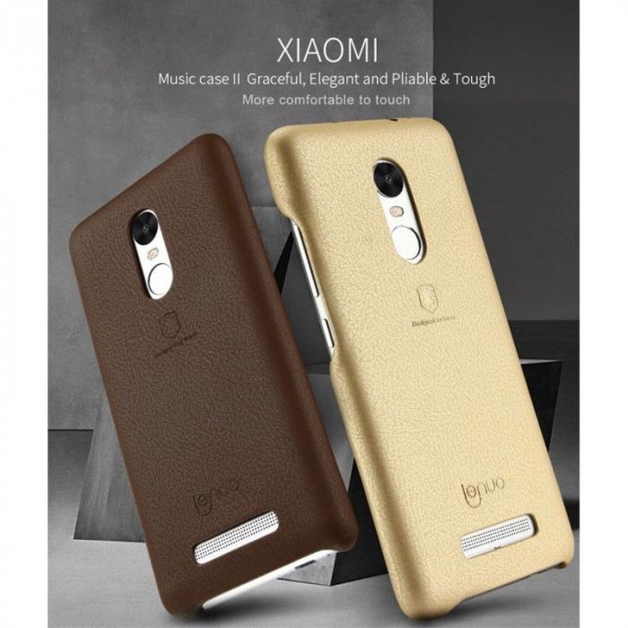 Husa Lenuo Xiaomi Redmi Note 3 Pro Special Edition (Kate) - gold 6