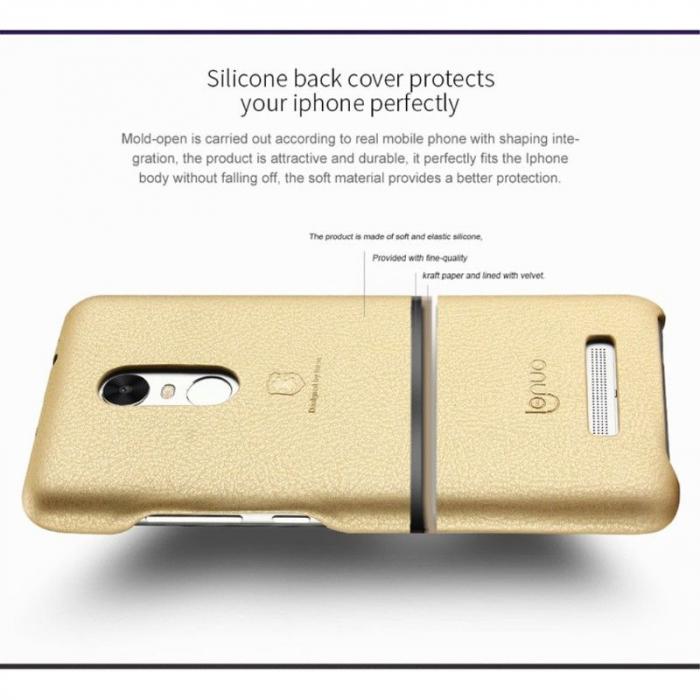 Husa Lenuo Xiaomi Redmi Note 3 Pro Special Edition (Kate) - gold 7
