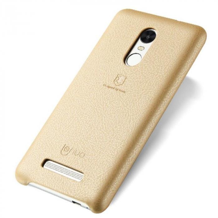 Husa Lenuo Xiaomi Redmi Note 3 Pro Special Edition (Kate) - gold 0