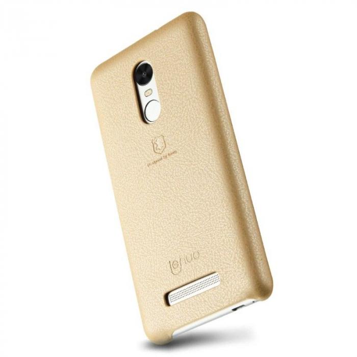 Husa Lenuo Xiaomi Redmi Note 3 Pro Special Edition (Kate) - gold 1