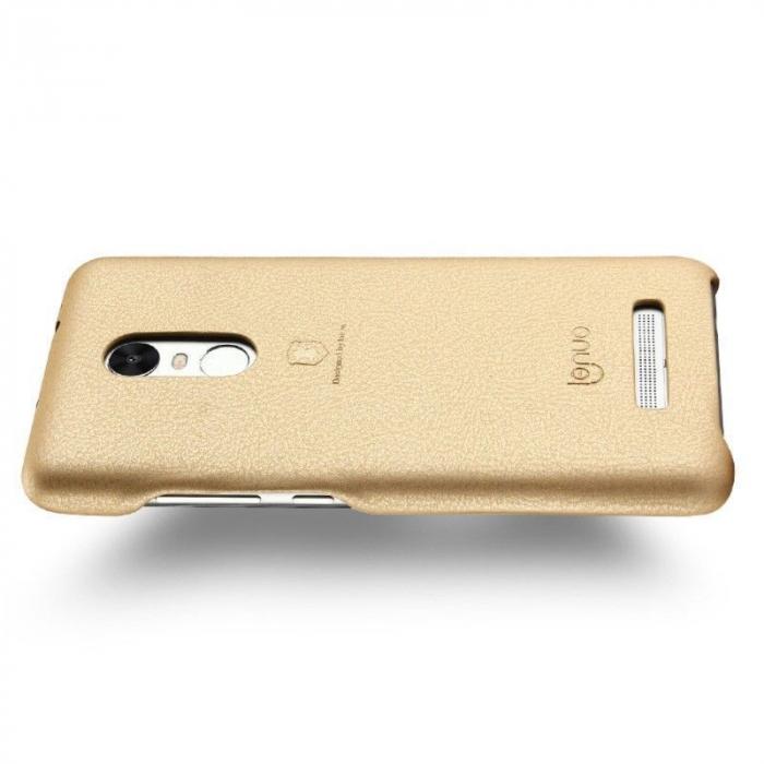 Husa Lenuo Xiaomi Redmi Note 3 Pro Special Edition (Kate) - gold 3