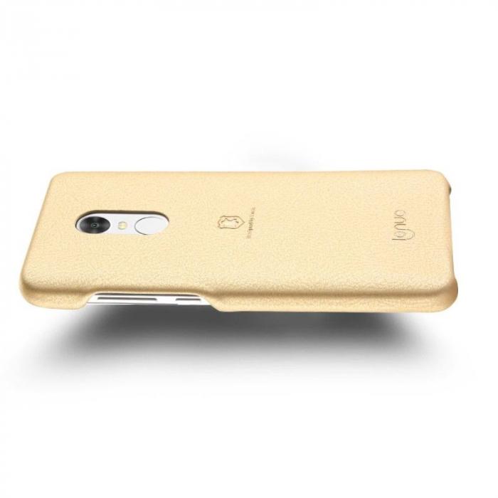 Husa Lenuo Xiaomi Redmi Note 4 - gold 3
