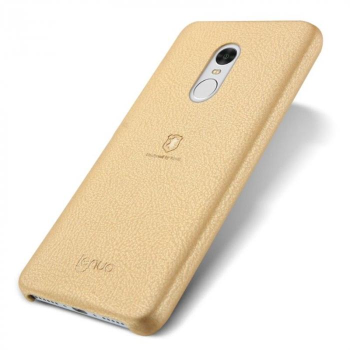 Husa Lenuo Xiaomi Redmi Note 4 - gold 0