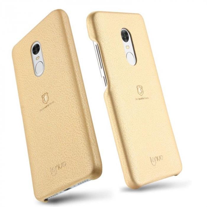 Husa Lenuo Xiaomi Redmi Note 4 - gold 4