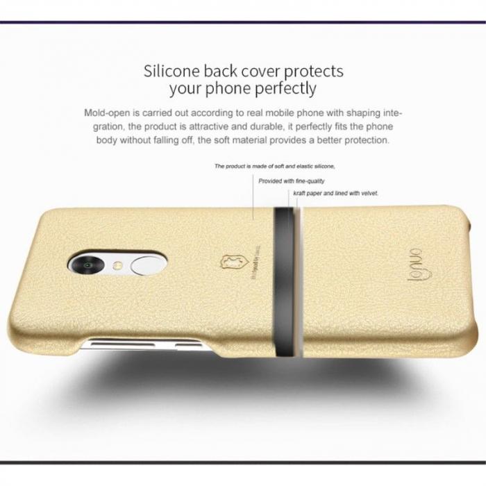 Husa Lenuo Xiaomi Redmi Note 4 - gold 5