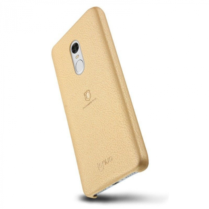 Husa Lenuo Xiaomi Redmi Note 4 - gold 1