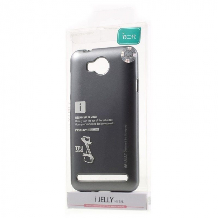 Husa Mercury i JELLY Huawei Y3II - gri 5