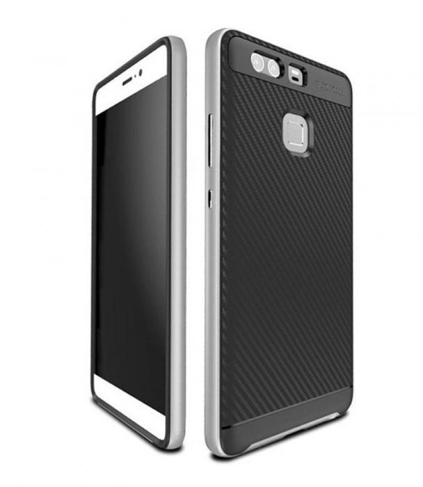 Husa Neo Hybrid Huawei P9 - argintiu 2