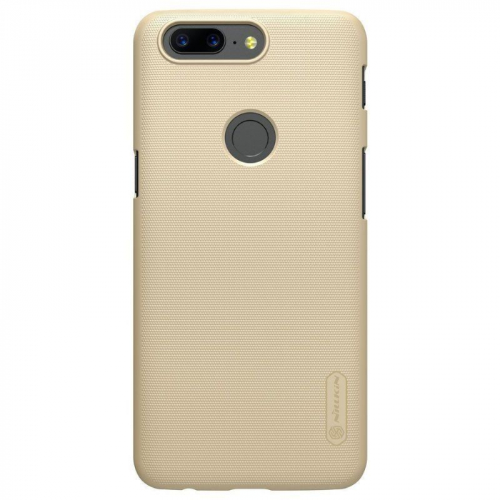 Husa OnePlus 5T Nillkin Frosted - gold 3