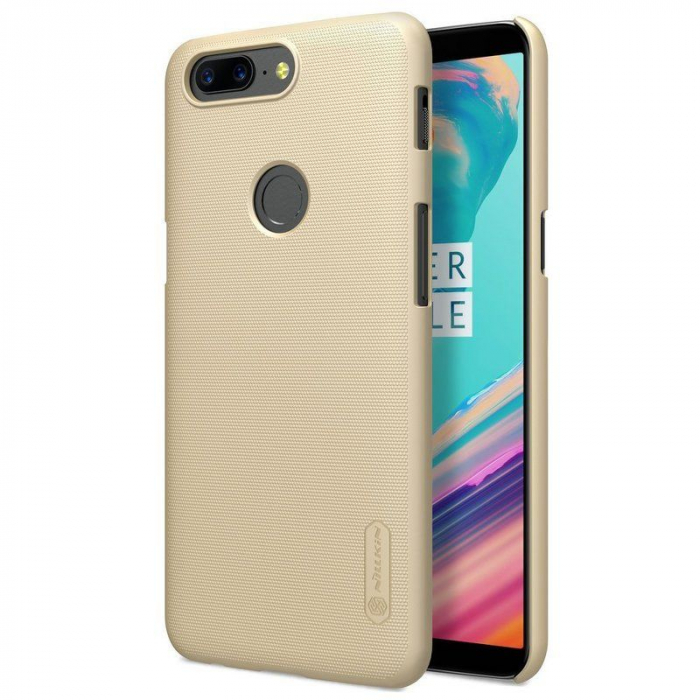 Husa OnePlus 5T Nillkin Frosted - gold 2