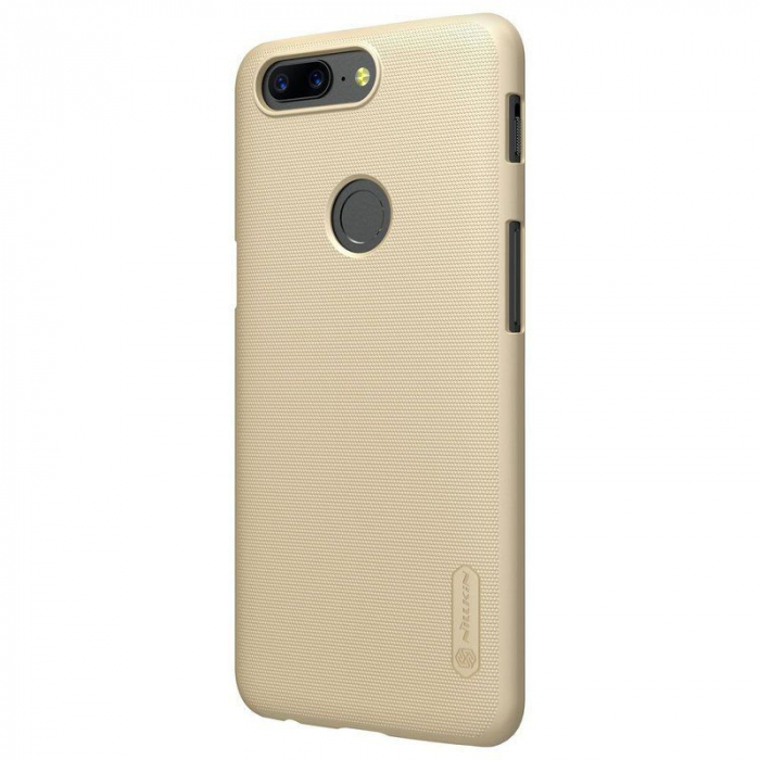 Husa OnePlus 5T Nillkin Frosted - gold 1