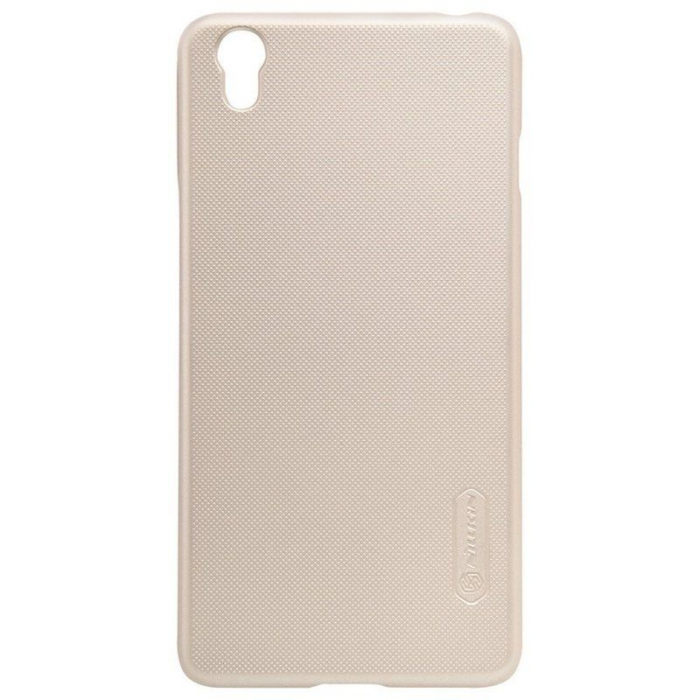 Husa OnePlus X Nillkin Frosted - gold 2