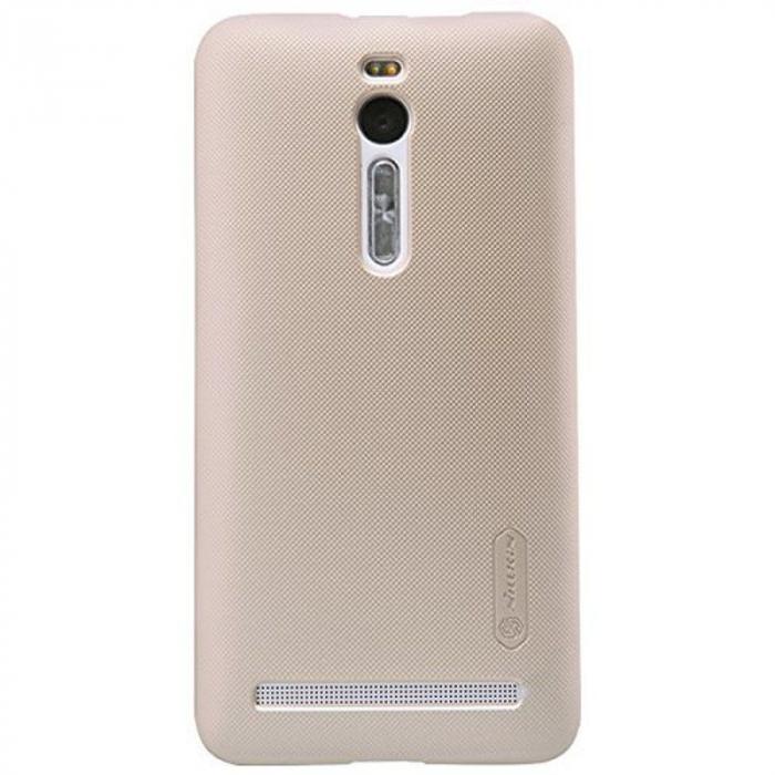 Husa Asus Zenfone 2 5.5inch Nillkin Frosted Shield - gold 0