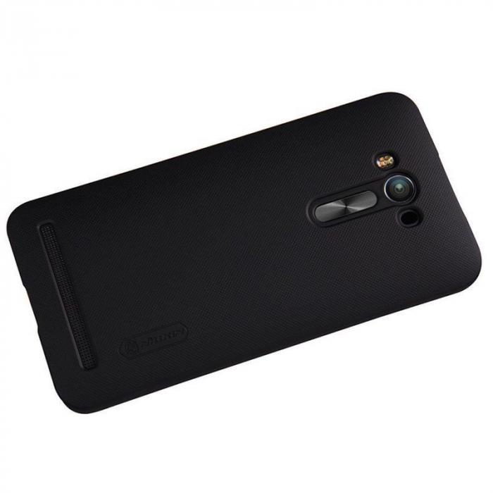 Husa Asus Zenfone 2 Laser 5.5inch Nillkin Frosted Shield - negru 3