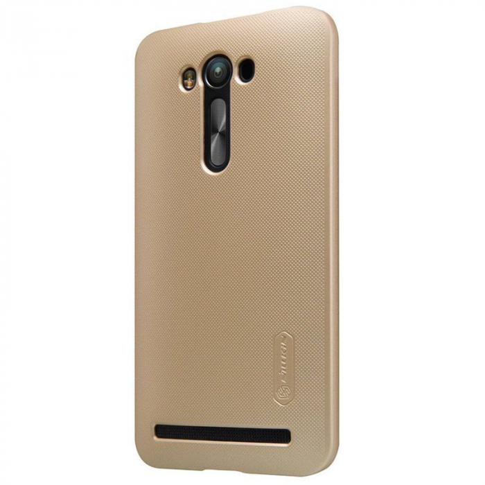Husa Asus Zenfone 2 Laser 5.5inch Nillkin Frosted Shield - gold 1