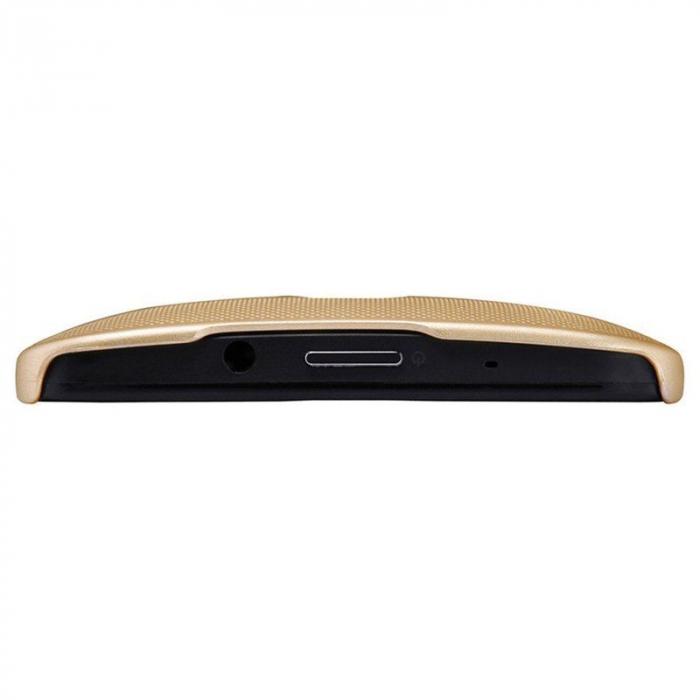 Husa Asus Zenfone 2 Laser 5.5inch Nillkin Frosted Shield - gold [3]