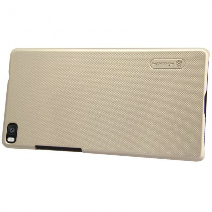Husa Nillkin Frosted Shield Huawei Ascend P8 - gold [4]