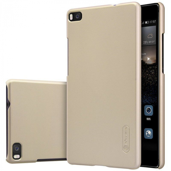 Husa Nillkin Frosted Shield Huawei Ascend P8 - gold 0