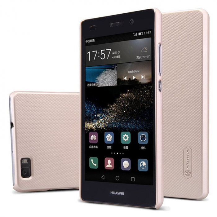Husa Nillkin Frosted Shield Huawei Ascend P8 Lite - gold 1