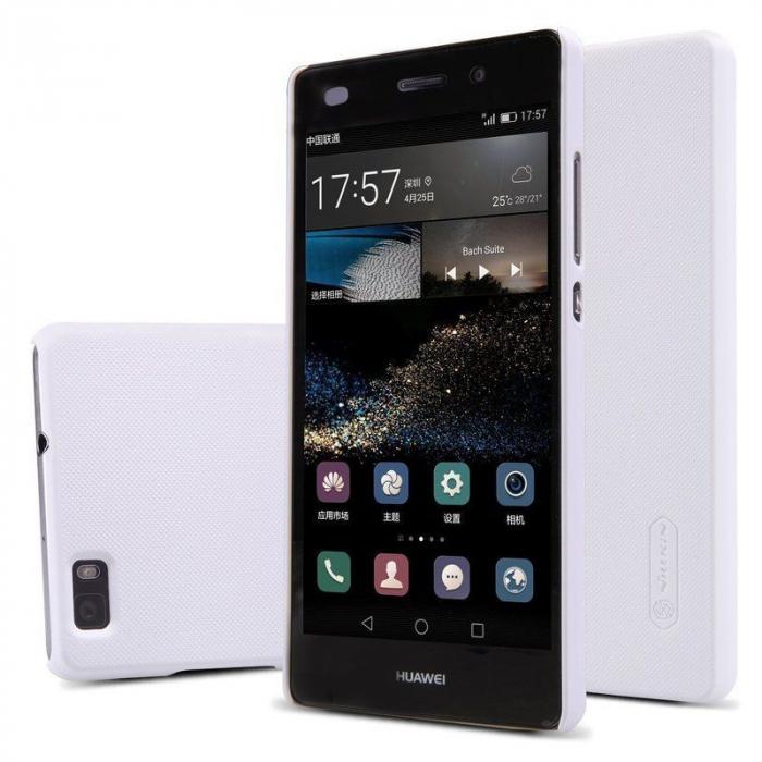 Husa Nillkin Frosted Shield Huawei Ascend P8 Lite - alb 4