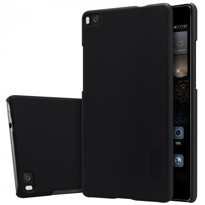 Husa Nillkin Frosted Shield Huawei Ascend P8 - negru 0