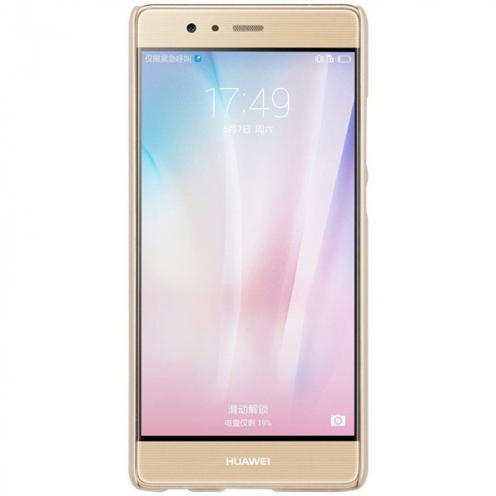 Husa Nillkin Frosted Shield Huawei P9 - gold 3