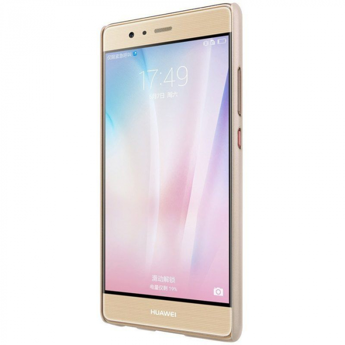 Husa Nillkin Frosted Shield Huawei P9 - gold 4