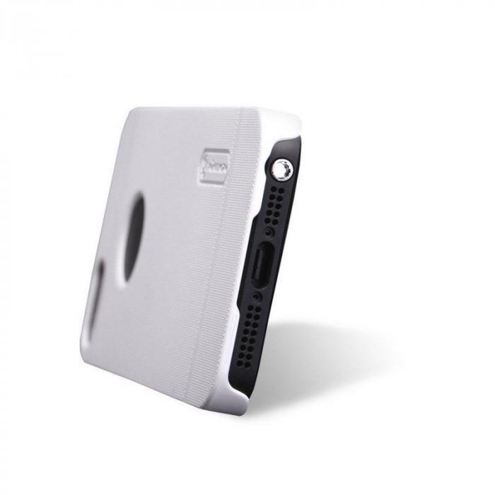 Husa Iphone 5 5S Nillkin Frosted Shield - alb 2
