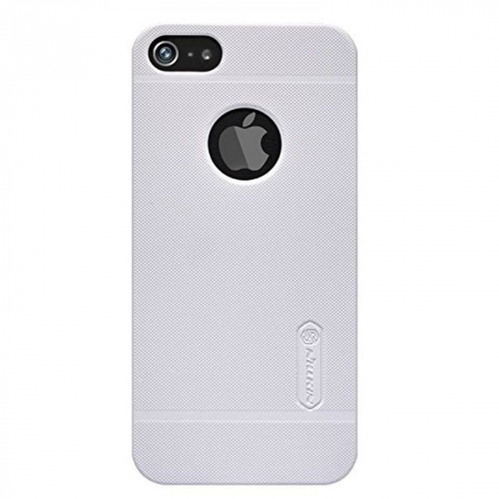 Husa Iphone 5 5S Nillkin Frosted Shield - alb 0