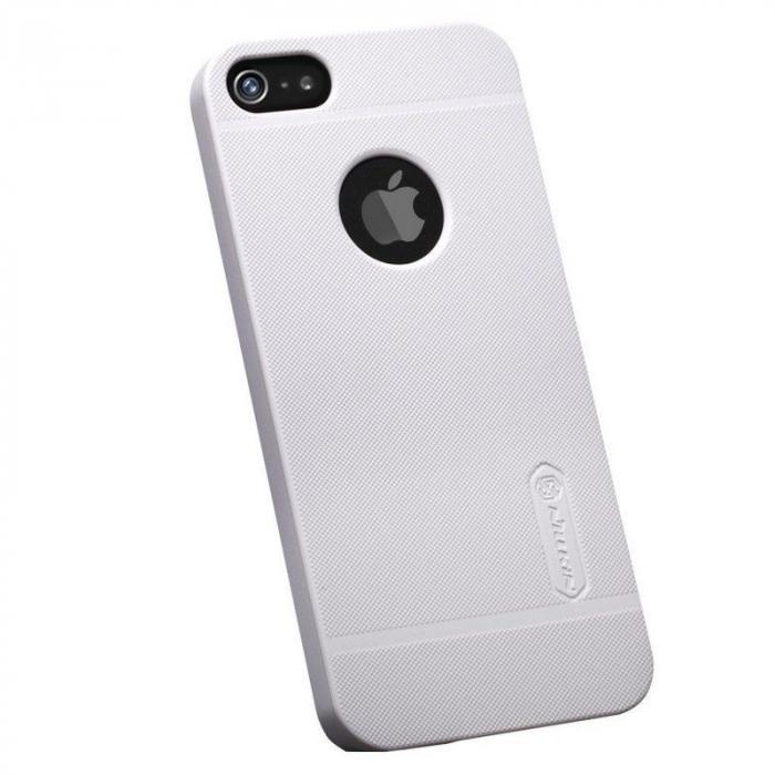 Husa Iphone 5 5S Nillkin Frosted Shield - alb 3