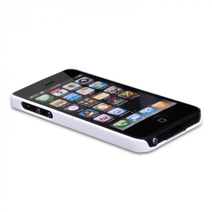Husa Iphone 5 5S Nillkin Frosted Shield - alb 1
