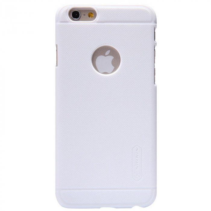 Husa iPhone 6 / iPhone 6s Nillkin Frosted Shield - alb 0