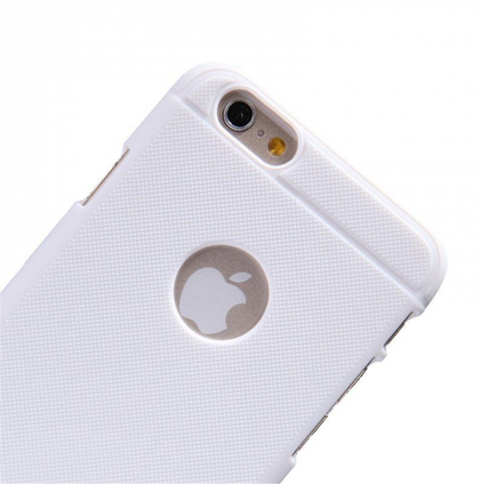 Husa iPhone 6 / iPhone 6s Nillkin Frosted Shield - alb 3