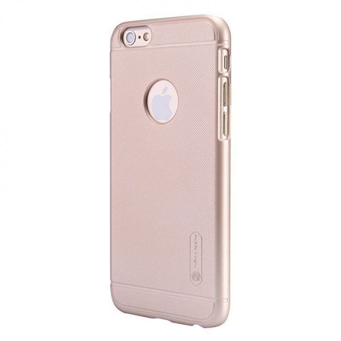 Husa iPhone 6 / iPhone 6s Nillkin Frosted Shield - gold 2