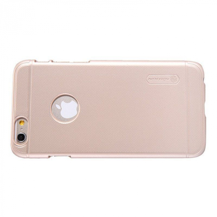 Husa iPhone 6 / iPhone 6s Nillkin Frosted Shield - gold 1