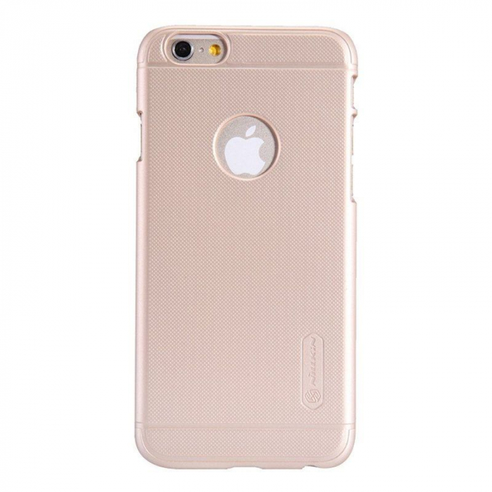 Husa iPhone 6 / iPhone 6s Nillkin Frosted Shield - gold 0