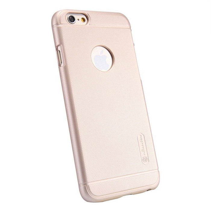 Husa iPhone 6 / iPhone 6s Nillkin Frosted Shield - gold 3