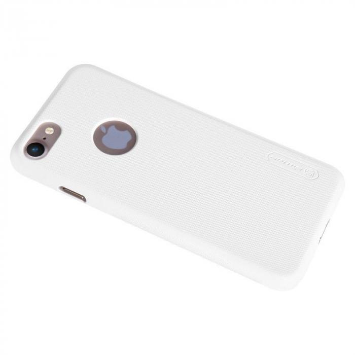 Husa  iPhone 7 - Nillkin Frosted Shield - alb 5