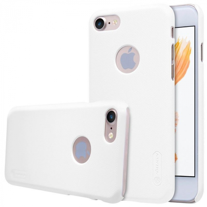 Husa  iPhone 7 - Nillkin Frosted Shield - alb 1