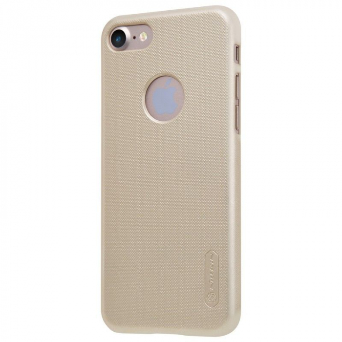 Husa  iPhone 7 - Nillkin Frosted Shield - gold 1