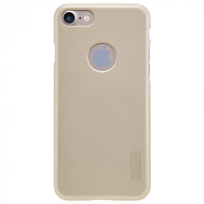 Husa  iPhone 7 - Nillkin Frosted Shield - gold 0