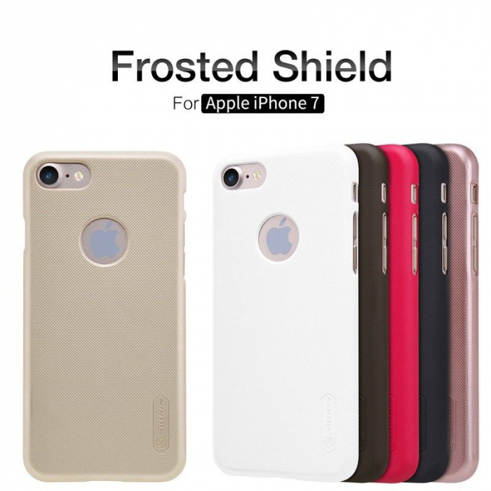 Husa  iPhone 7 - Nillkin Frosted Shield - roz 6