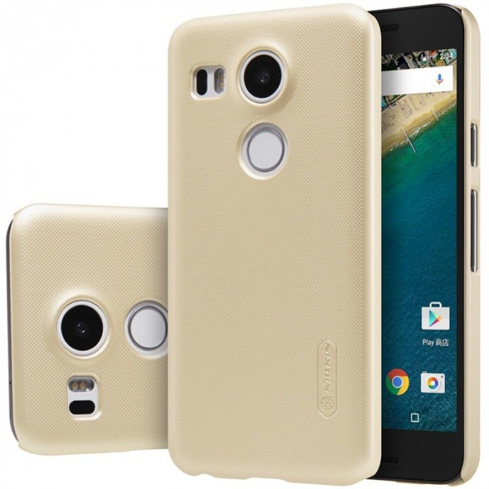 Husa Nillkin Frosted Shield LG Google Nexus 5X - gold 3