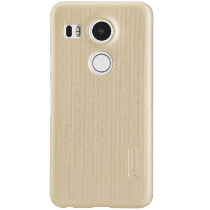 Husa Nillkin Frosted Shield LG Google Nexus 5X - gold 0