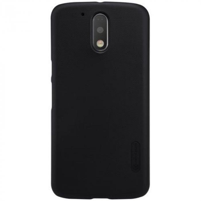 Husa Motorola Moto G4 Nillkin Frosted Shield - negru 0